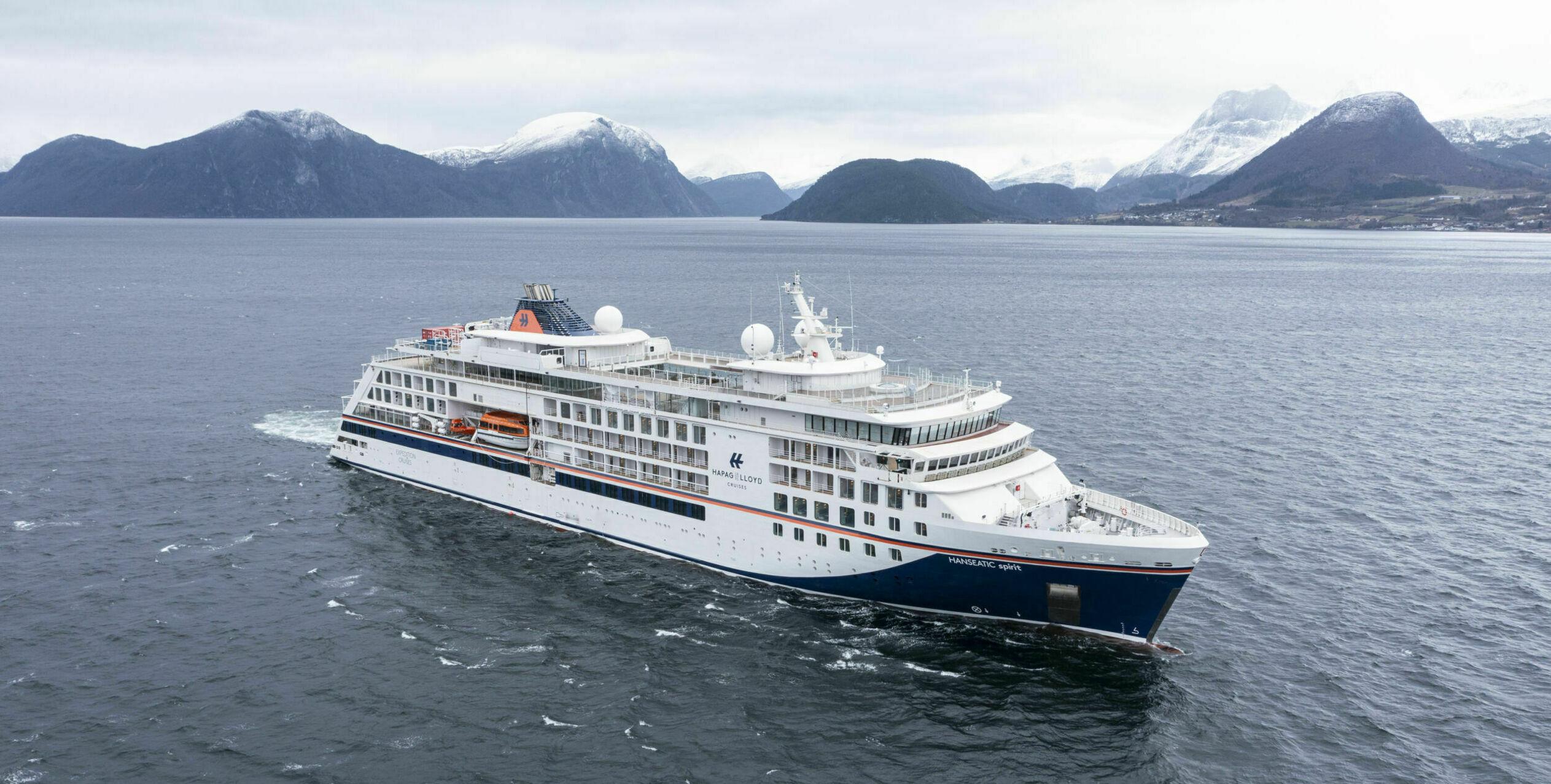 Risteilyalus M/S Hanseatic Spirit vierailee Raumalla 30.9.