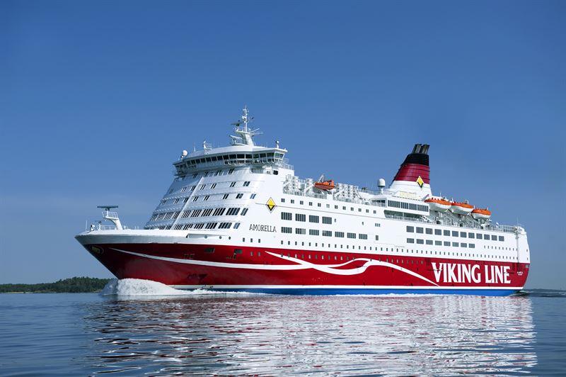 Merenkulun turvallisuuspalkinto Viking Linen MS Amorellan miehistölle