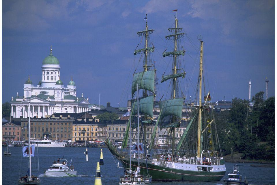 Helsinki on yksi Tall Ships Races 2024 -purjehduskilpailun kohdesatamista