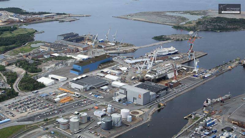 SRV toteuttaa laivanrakennukseen tarkoitetun monitoimihallin RMC:n telakalle Raumalle